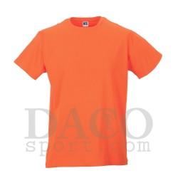 Russell JE155M Maglia 100% Cotone Uomo Arancio