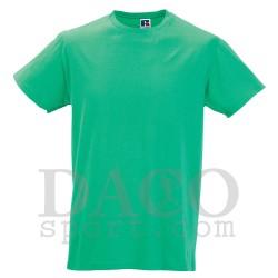 Russell JE155M Maglia 100% Cotone Uomo Verde Mela