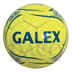 Galex Pallone Calcio FOG n.5 Giallo Fluo