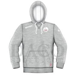 "Sportika Felpa HARWARD Grigio Logo ""IL FARO - I.C. ZIPPILLI - LUCIDI"""