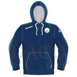 "Sportika Felpa HARVARD Blu Logo ""IL FARO - I.C. ZIPPILLI - LUCIDI"""