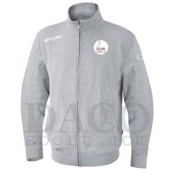 "Sportika Felpa PROVIDENCE Grigio Logo ""IL FARO - I.C. ZIPPILLI - LUCIDI"""