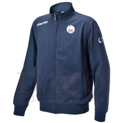 "Sportika Felpa PROVIDENCE Blu Logo ""IL FARO - I.C. ZIPPILLI - LUCIDI"""