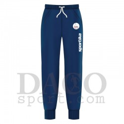 "Sportika Pantalone HUDSON Blu Logo ""IL FARO - I.C. ZIPPILLI - LUCIDI"""