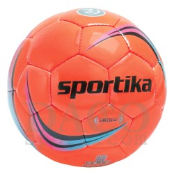 Sportika Pallone Calcio SANTIAGO N.5 Arancio Fluo