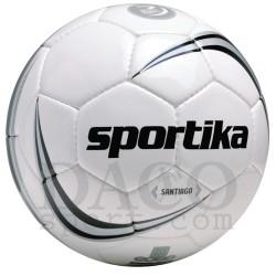 Sportika Pallone Calcio SANTIAGO N.5 Nero/Bianco