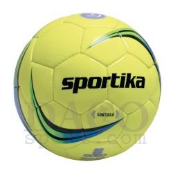 Sportika Pallone Calcio SANTIAGO N.5 Giallo Fluo