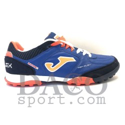 Joma Scarpe Calcetto TOP FLEX 503 Outdoor Uomo Blu/Arancio