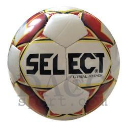 Select Pallone Calcetto ATTACK RC Bianco/Rosso