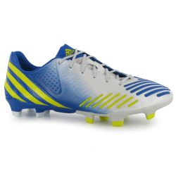 Adidas Predator LZ TRX FG scarpe calcio uomo bianco/giallo/blu