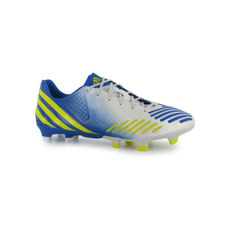 finest selection aaa8b 58f18 Adidas Predator LZ TRX FG scarpe calcio uomo bianco giallo blu